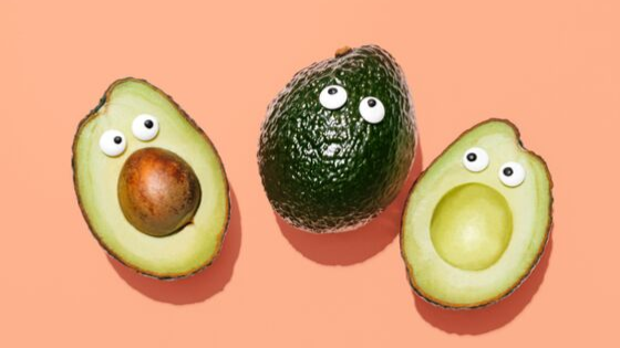Fertility diet avocados