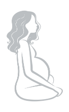 Pregnant woman fav icon fertility clinic