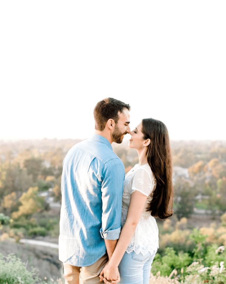 Couple after male fertility care